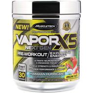 Muscletech, Vapor X5, Next Gen, Pre-Workout, Hawaiian Hurricane, 9.60 oz (272 g)