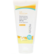 MyChelle Dermaceuticals, Replenishing Solar Defense Body Lotion, SPF 50, Anti-Aging, 6 fl oz (177 ml)