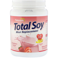 Naturade, Total Soy, Meal Replacement, Strawberry Delight, 19.1 oz (540 g)