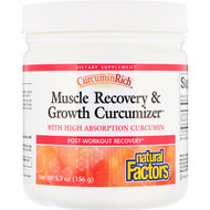 Natural Factors, CurcuminRich, Muscle Recovery & Growth Curcumizer, 5.5 oz (156 g)
