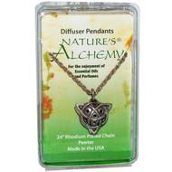 Natures Alchemy, Celtic Necklace, Diffuser Pendant, 1 Pendant