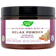 Natures Way, Premium Herbal Blend, Relax Powder, 2.25 oz (64 g)