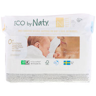 Naty, Diapers, Size N, -11 lbs (-4,5, 25 Diapers