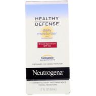 Neutrogena, Healthy Defense, Daily Moisturizer with Sunscreen, Broad Spectrum SPF 50, 1.7 fl oz (50 ml)