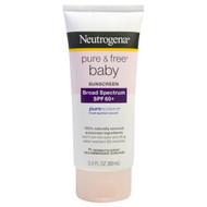 Neutrogena, Pure & Free Baby Sunscreen, SPF 60+, 3.0 fl oz (88 mL)