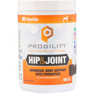 Nootie, Progility, Hip & Joint, For Dogs, 90 Soft Chews