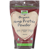 Now Foods, Real Food, Organic Hemp Protein Powder, 12 oz (340 g)