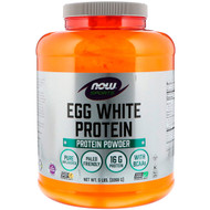 Now Foods, Sports, Egg White Protein Powder, 5 lbs (2268 g)