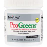 Nutricology, ProGreens, With Advanced Probiotic Formula, 3 oz (85 g)