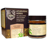 Ojio, Ayurvedic Herbs, Holy Basil Powder, 2 oz (56 g)