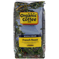 Organic Coffee Co., French Roast, Whole Bean Coffee, 12 oz (340 g)