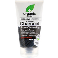 Organic Doc, Activated Charcoal Pore Cleansing Face Mask, 4.2 fl oz (125 ml)