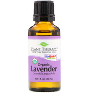 Plant Therapy, 100% Pure Essential Oils, Organic Lavender, 1 fl oz (30 ml)