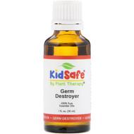 Plant Therapy, KidSafe, 100% Pure Essential Oils, Germ Destroyer, 1 fl oz (30 ml)