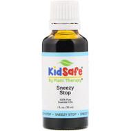 Plant Therapy, KidSafe, 100% Pure Essential Oils, Sneezy Stop, 1 fl oz (30 ml)
