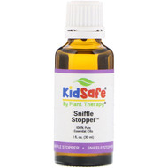 Plant Therapy, KidSafe, 100% Pure Essential Oils, Sniffle Stopper, 1 fl oz (30 ml)