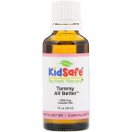 Plant Therapy, KidSafe, 100% Pure Essential Oils, Tummy All Better, 1 fl oz (30 ml)