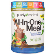 Purely Inspired, All-In-One Meal, Complete Meal Replacement, Decadent Chocolate, 1.30 lbs (590 g)