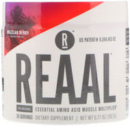 REAAL, The Original Essential Amino Acid Muscle Multiplier, Brazilian Berry, 6.77 oz (192 g)
