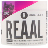 REAAL, The Original Essential Amino Acid Muscle Multiplier, Fuji Grape, 6.46 oz (183 g)