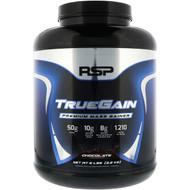 RSP Nutrition, TrueGain Premium Mass Gainer, Chocolate, 6 lbs (2.6