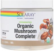 Solaray Fermented Organic Mushroom Complete -- 2000 mg - 2.14 oz