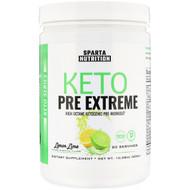 Sparta Nutrition, Keto Pre Extreme, Lemon Lime, 10.58 oz (300 g)