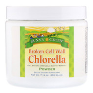 Sunny Green, Broken Cell Wall Chlorella, 7.14 oz (200 g)
