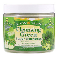 Sunny Green, Cleansing Green Super Nutrients, Green Apple, 5.85 oz (166 g)
