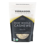 Terrasoul Superfoods, Raw Whole Cashews, Unroasted, 16 oz (454 g)