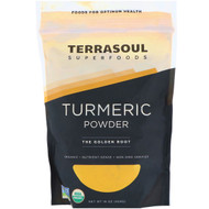 Terrasoul Superfoods, Turmeric Powder, 16 oz (454 g)