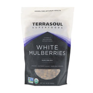 Terrasoul Superfoods, White Mulberries, Sun-Dried, 16 oz (454 g)