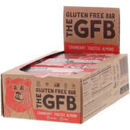 The GFB, Gluten Free Bar, Cranberry Toasted Almond, 12 Bars, 2.05 oz (58 g) Each