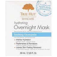 Tree Hut, Skincare, Hydrating Overnight Mask, Soothing Chamomile, 2 fl oz (59 ml)