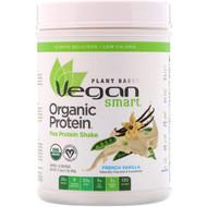VeganSmart, Organic Pea Protein Shake, French Vanilla, 17.3 oz (490 g)