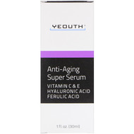 Yeouth, Anti-Aging Super Serum, 1 fl oz (30 ml)
