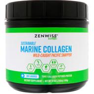 Zenwise Health, Sustainable Marine Collagen, Unflavored, 12 oz (340 g)
