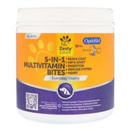 Zesty Paw 5 In 1 Multivitamin Bites Chicken -- 90 Soft Chews