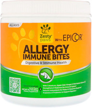 Zesty Paws, Aller-Immune Bites for Dogs, Immune System,  All Ages, Lamb Flavor, 90 Soft Chews, 12.7 oz (360 g)
