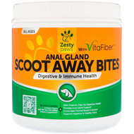 Zesty Paws, Scoot Away Bites, Digestive & Immune Health, for Dogs, All Ages, Chicken Flavor, 90 Soft Chews