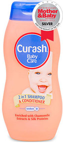 3 PACK OF Curash 2 In 1 Shampoo & Conditioner 200Ml