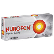 3 PACK OF Nurofen 200mg 12 Tablets