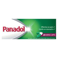 3 PACK OF Panadol Mini Capsules 20