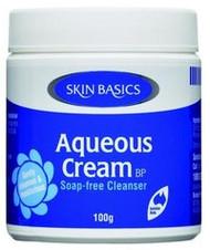 3 PACK OF Skin Basics Aqueous Cream Bp Jar 100G