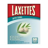 3 PACK OF Laxettes Tablets With Senna 50