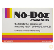 3 PACK OF No-Doz 24 Tablets