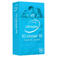 3 PACK OF LifeStyles Closer Fit Condoms 10 Pack