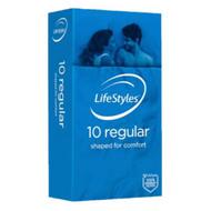 3 PACK OF LifeStyles Regular Condoms 10 Pack