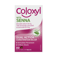 3 PACK OF Coloxyl With Senna 30 Tablets