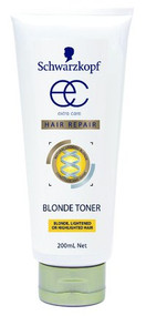 3 PACK OF Schwarzkopf Extra Care Blonde Toner 200Ml